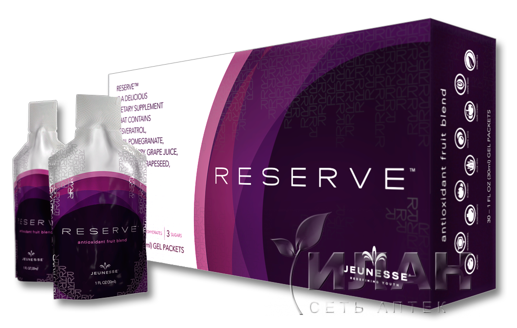 RESERVE БАД Jeunesse Global, 30 пакетиков