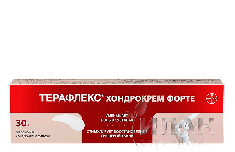 Терафлекс Хондрокрем Форте (Theraflex Chondrocream Forte)